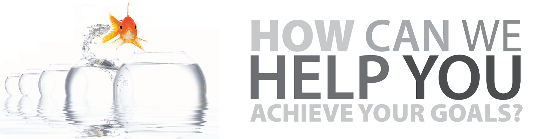 How can we help you achieve your goals?